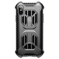 Чехол Baseus Cold front cooling Case для iPhone Xs Transparent